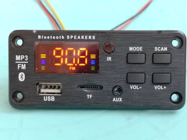 Bluetooth 5.0 MP3/APE/FLAC/FM модуль