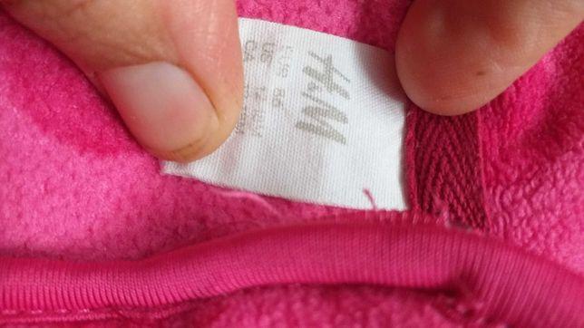 Bluza polarowa rozmiar 86