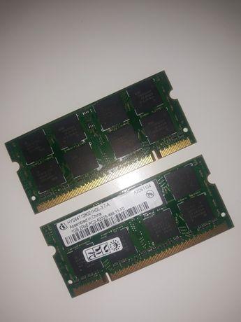 Pamięć RAM do laptopa 2x1gb
