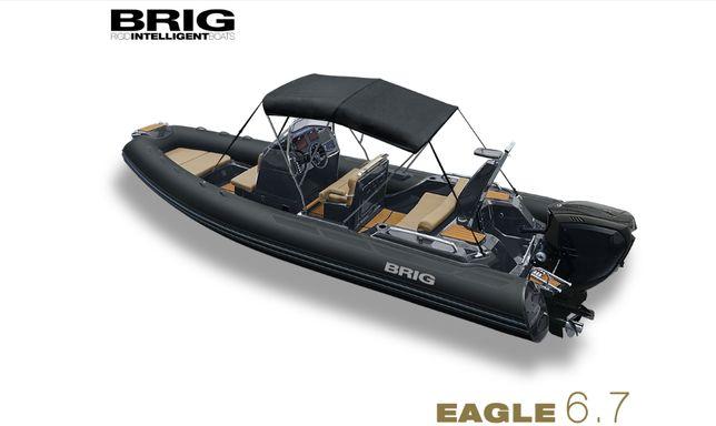 Катер BRIG Eagle 6.7 с мотором SUZUKI DF200APX '2021
