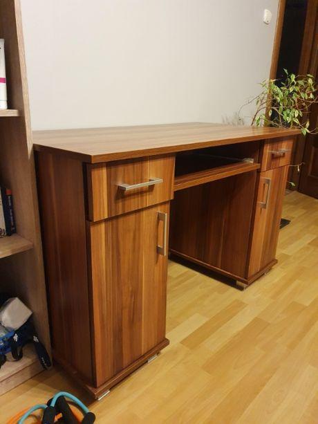 Biurko duże z szufladami