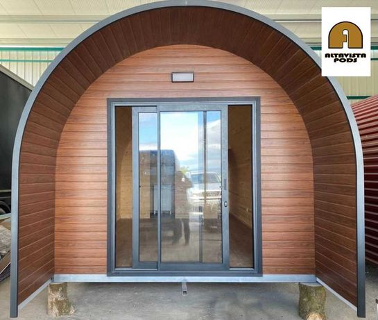 Bungalow Pod 18m2, casa madeira