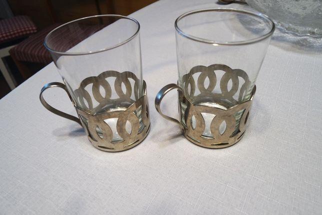 koszyczki na szklanki 2szt prl