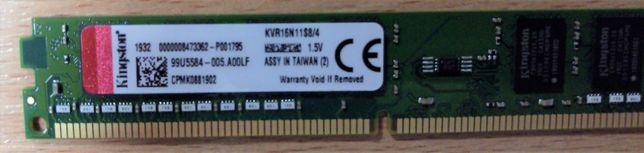 Продам память Kingston DDR3-1600 4096MB (KVR16N11S8/4)
