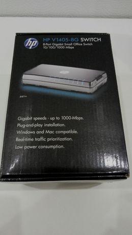 Коммутатор сетевой HP V1405-8G Switch