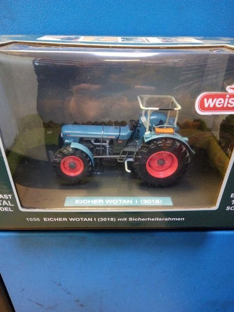 Zabawka traktor Eicher Wotan I Weise toys