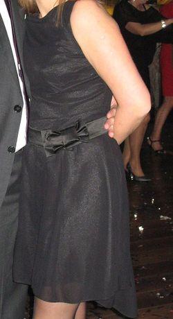 Czarna elegancka sukienka rozmiar L