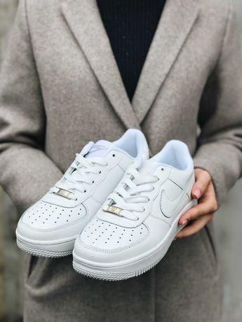 Скидка 35% Кроссовки белые Найк Аир Форс Nike Top!