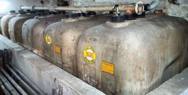 Zbiornik na olej opałowy, napędowy firmy ROTH 1000 litr.