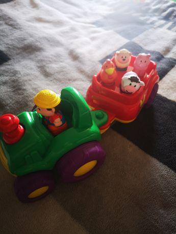 Traktor zabawka dla dzieci