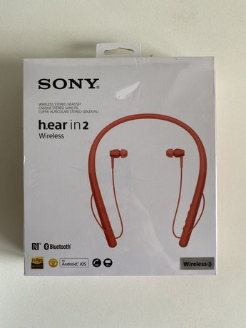 Auriculares Sony WI-H700 h.ear in 2 Wireless SELADO