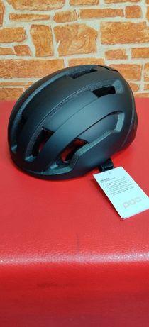 #186 Шлем POC Omne Air SPIN черный S (50 - 56 см)