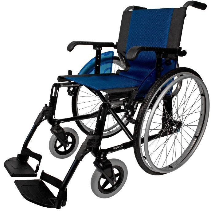 12,5kg LINE wózek inwalidzki aluminiowy / NFZ / p.129 LEKKI! Łódź - image 1