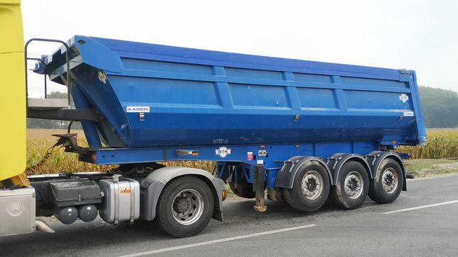 Naczepa wywrotka Kaiser Schmitz 2011 oś SAF 28m3 import belgia