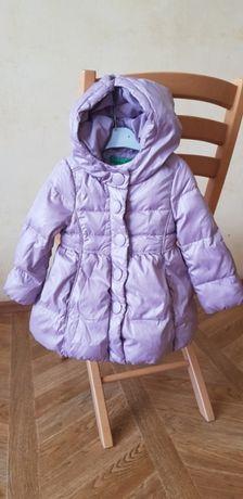 Зимнее пальто Benetton на годик