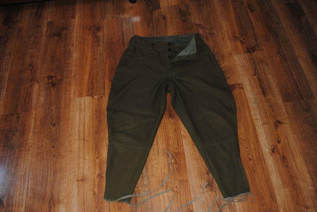 Spodnie bryczesy oficerskie wz. 36 (materiał gabardyna)