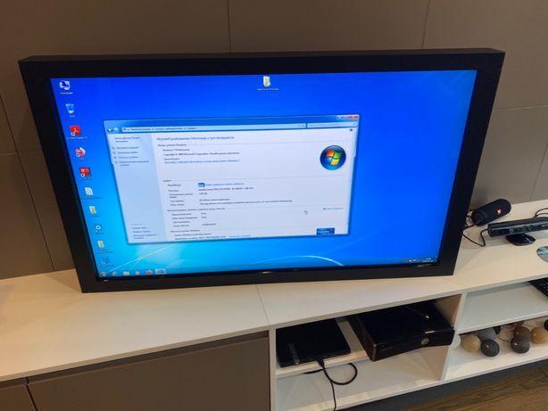 Telewizor z ekranem dotykowym Hyundai D465MLI + komputer i osprzęt