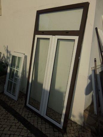 Porta Aluminio Com Oscilobaente - Janela Aluminio - Porta Aluminio