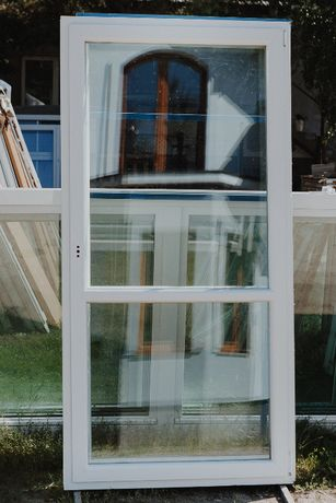 Okno Drzwi BALKONOWE 110x222 Używane z Niemiec Super Stan