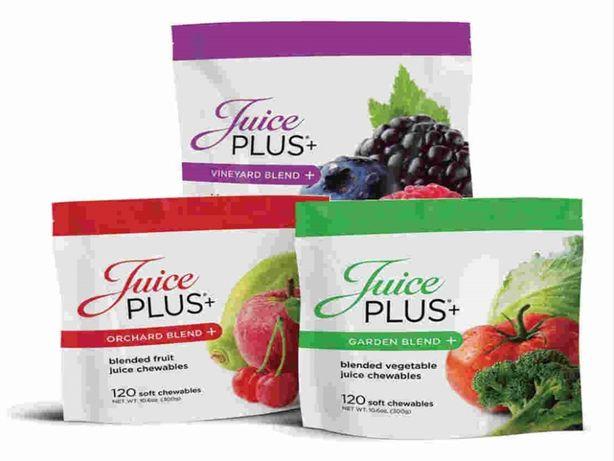 Żelki warzywa, owoce i jagody Juice plus