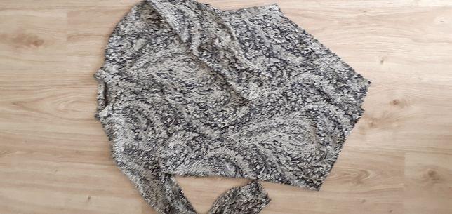 Koszula Zara czarno-biała