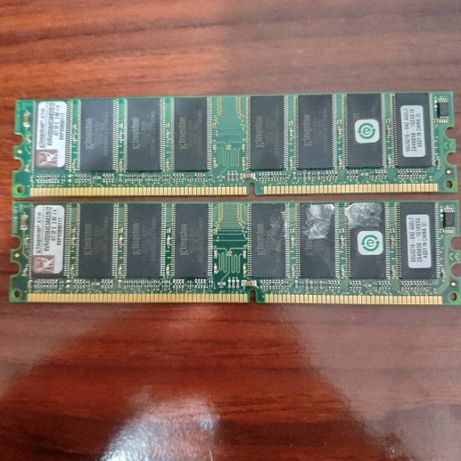 Memórias Kingston KVR400X64C3AK2/512 ValueRAM 512MB 400MHz DDR CL3