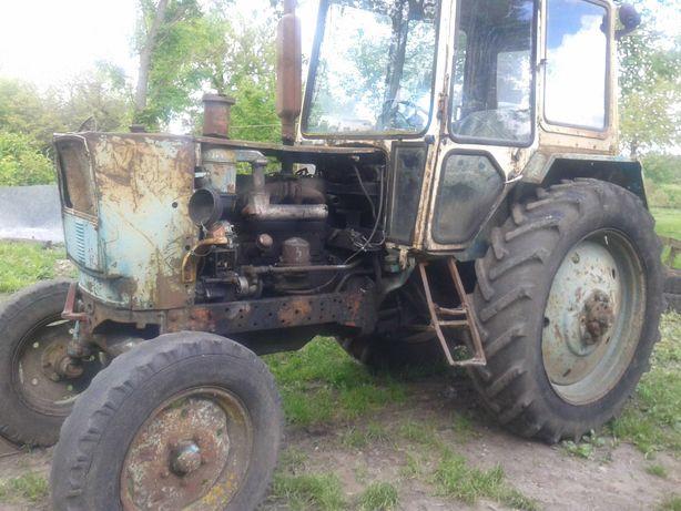 Трактор ЮМЗ 6КЛ !