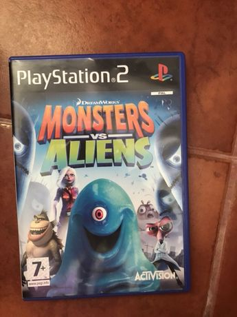 Jogo Monstros versus Aliens PS2