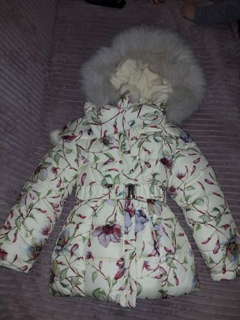 Зимова куртка для дівчинки. НОВА