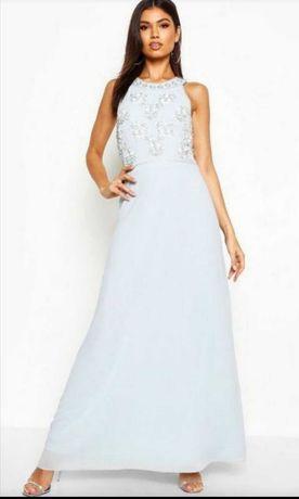 Вечернее выпускное платье boohoo 44/ xl/52