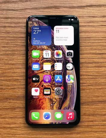 iPhone XS Max 64GB - Desbloqueado- Com garantia e acessórios (Grade A)