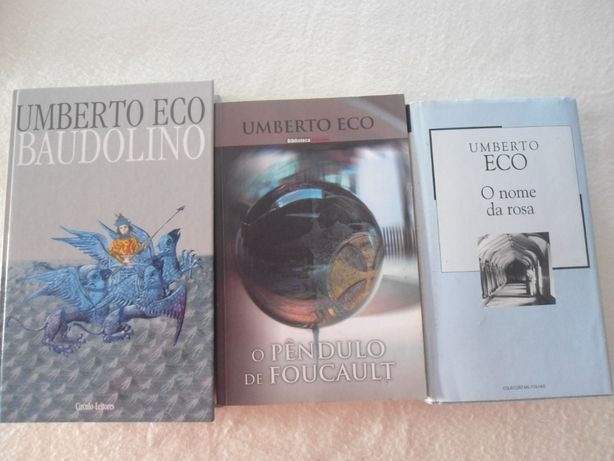 3 Obras de Umberto Eco