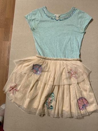 Нарядное платье для девочки Monsoon,