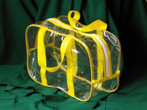 Сумка (сумки) в роддом прозрачная
