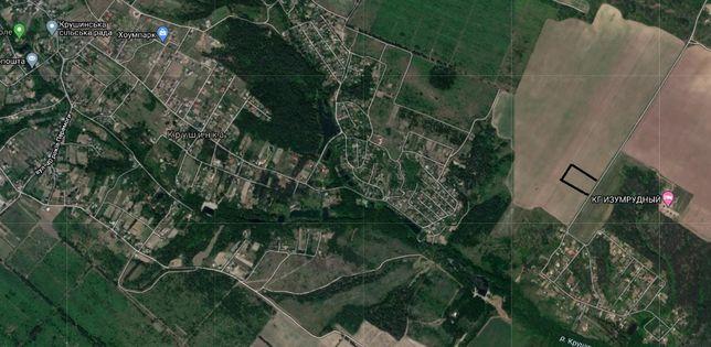 земельна ділянка ОСГ 2га