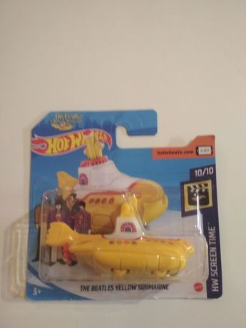 Hotwheels The Beatles Yellow Submarine- Treasure Hunt
