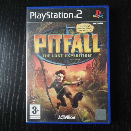 Pitfall The Lost Expedition Playstation 2 PS2 Jogo