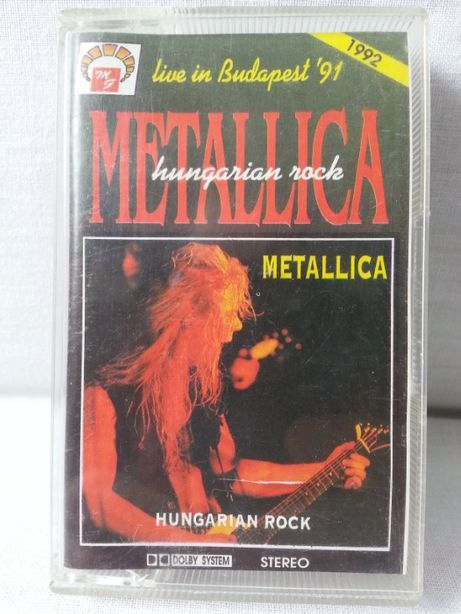 Kaseta magnetofonowa Metallica Hungarian Rock