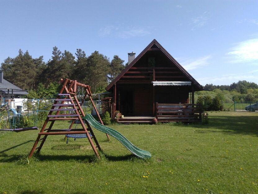 Domek drewniany nad jeziorem do wynajęcia w Kamionkach Małych Toruń - image 1