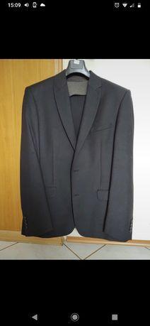 garnitur czarny komplet