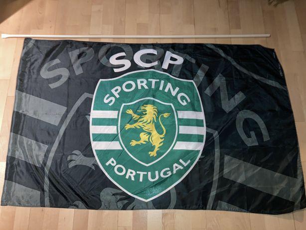 Bandeira/Pano SPORTING verde