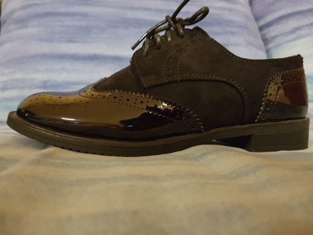 Buty czarne 38 eleganckie