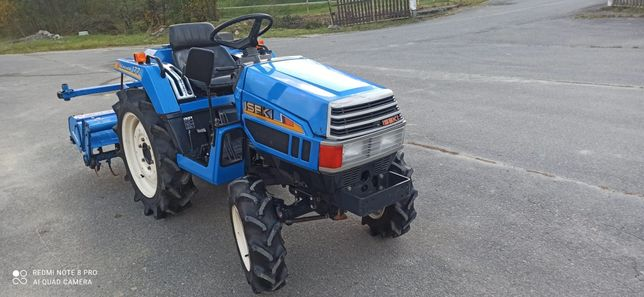 Traktorek japoński iseki tu177