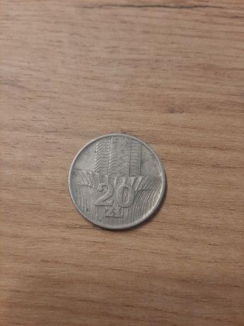 Moneta 20 zł 1976 Wieżowiec i kłosy