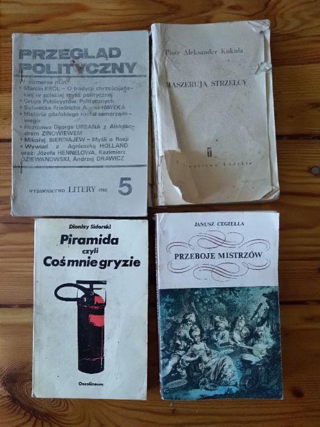 Przegląd polityczny. Wydawnictwo Litery.