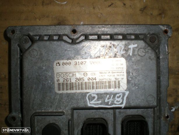 Centralina 555 SMART FORTWO 0261205004 0003107V006 SMART / FORTWO / 0,6 / BOSCH /