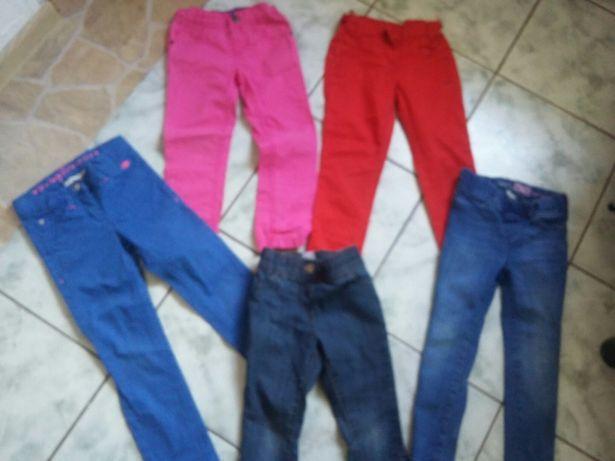 Spodnie dla dziewczynki  R. 110
