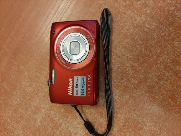 Aparat Nikon Coolpix S310 + Karta Pamięci 4gb