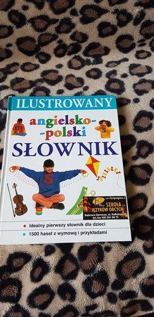 Ilustrowany słownik angielsko-polski dla dzieci