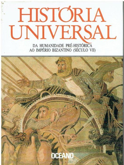 10617 História Universal, Editora Oceano, Colecção, 4Volumes